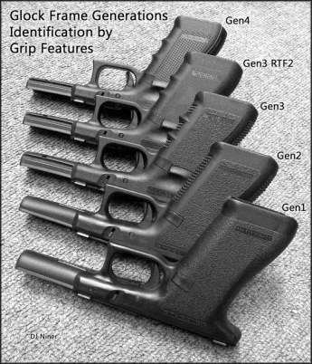 Glock Frame Generation Identification