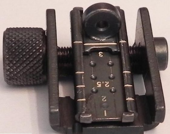 M1 Carbine Rear Sight Type 3 The Savannah Arsenal Project