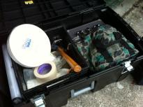 gun range box contents