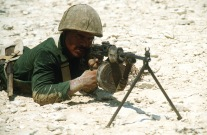 RPK Machinegun Egyptian Marine, Brightstar 1985