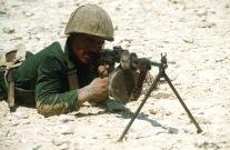 RPK Machinegun Egyptian Marine, Brightstar 1985