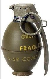 M26 Fragmentation Grenade
