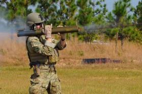 m-72 law rock launcher