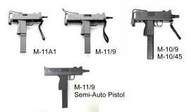 4 macs submachine guns