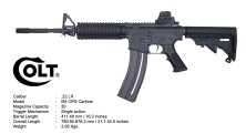 Colt Walther M4 OPS 22LR