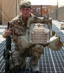 body armor rifle hit