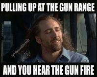 Gun Range Noise Meme