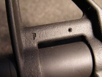 AR-15 Front Sight F Marking