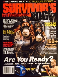 Survivor's Edge magazine does not have a website. Check it out at your local newsstand.