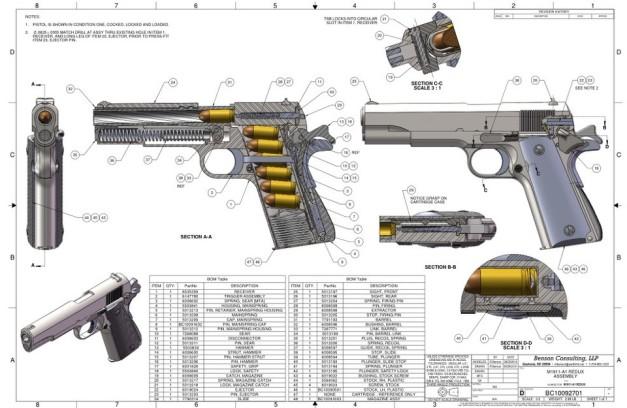 1911 schematics