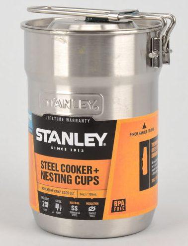 Stanley Steel Cooker plus Nesting Cups