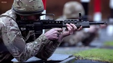 British L85 Bullpup Rifle