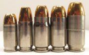 .380 ACP, 9mm, .357 Sig, .40 S&W, .45 ACP Comparison