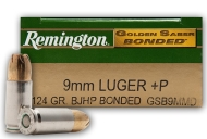 Remington Golden Saber Bonded 9mm +P