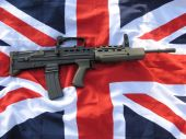 British SA-80/L-85 Bullpup Rifle
