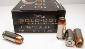 Speer Gold Dot Hollow Point (GDHP)