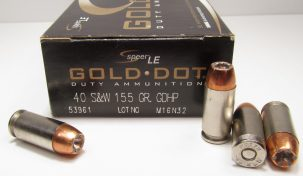 Speer Gold Dot Hollow Point (GDHP)