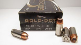 Speer Gold Dot .40 S&W 155 grain GDHP