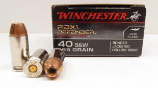 Winchester PDX1 Defender .40 S&W 165 grain