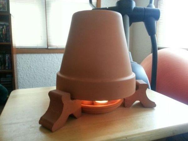 The Savannah Arsenal Project & tea candle flower pot heater   The Savannah Arsenal Project