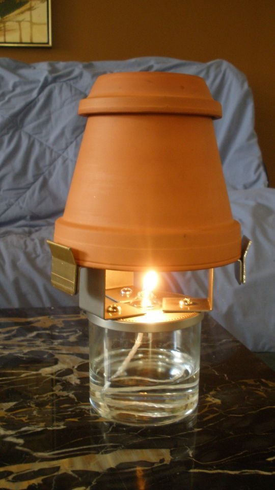 Tea Candle Flower Pot Heater The Savannah Arsenal Project