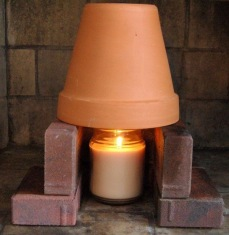 flower-pot-candle-heater
