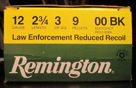 Remington Law Enforcemtn Reduce Recoil 00 Buckshot 09 pellets