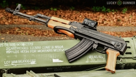 AK-47 with underfolding stock