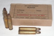 5.56x45mm NATO Blank Ammunition
