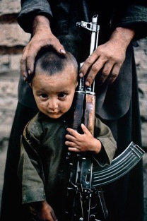 Child with AK-47