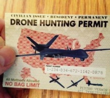 drone hunting permit