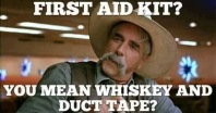funny first aid kit meme