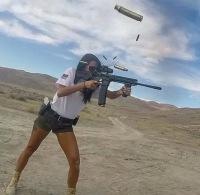 girl shooting ar-15