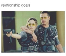 Mr & Mrs Smith relationship goals