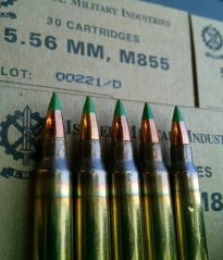 m855 green tip ammo