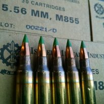 m855 green tip ammo