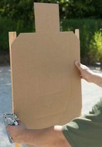 IDPA Cardboard Target