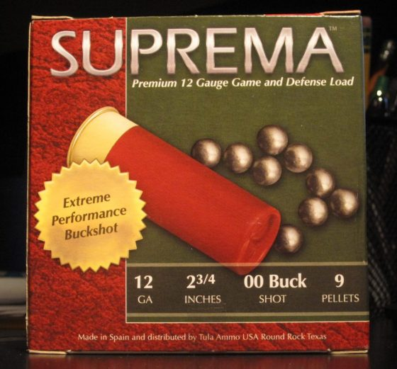 Suprema 12 Gauge 00 Buckshot