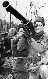 Elvis Presley Shooting Bazooka