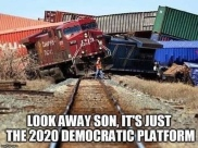 Democratic Party Train Wreck