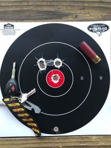 Federal Power-Shok 12 Gauge Rifled Slugs Target